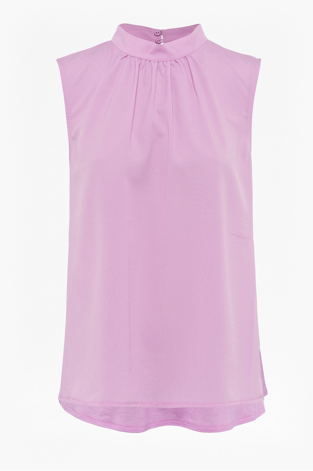 97f3f3cd5d2 Crepe Light High Neck Sleeveless Top | Collections | French Connection