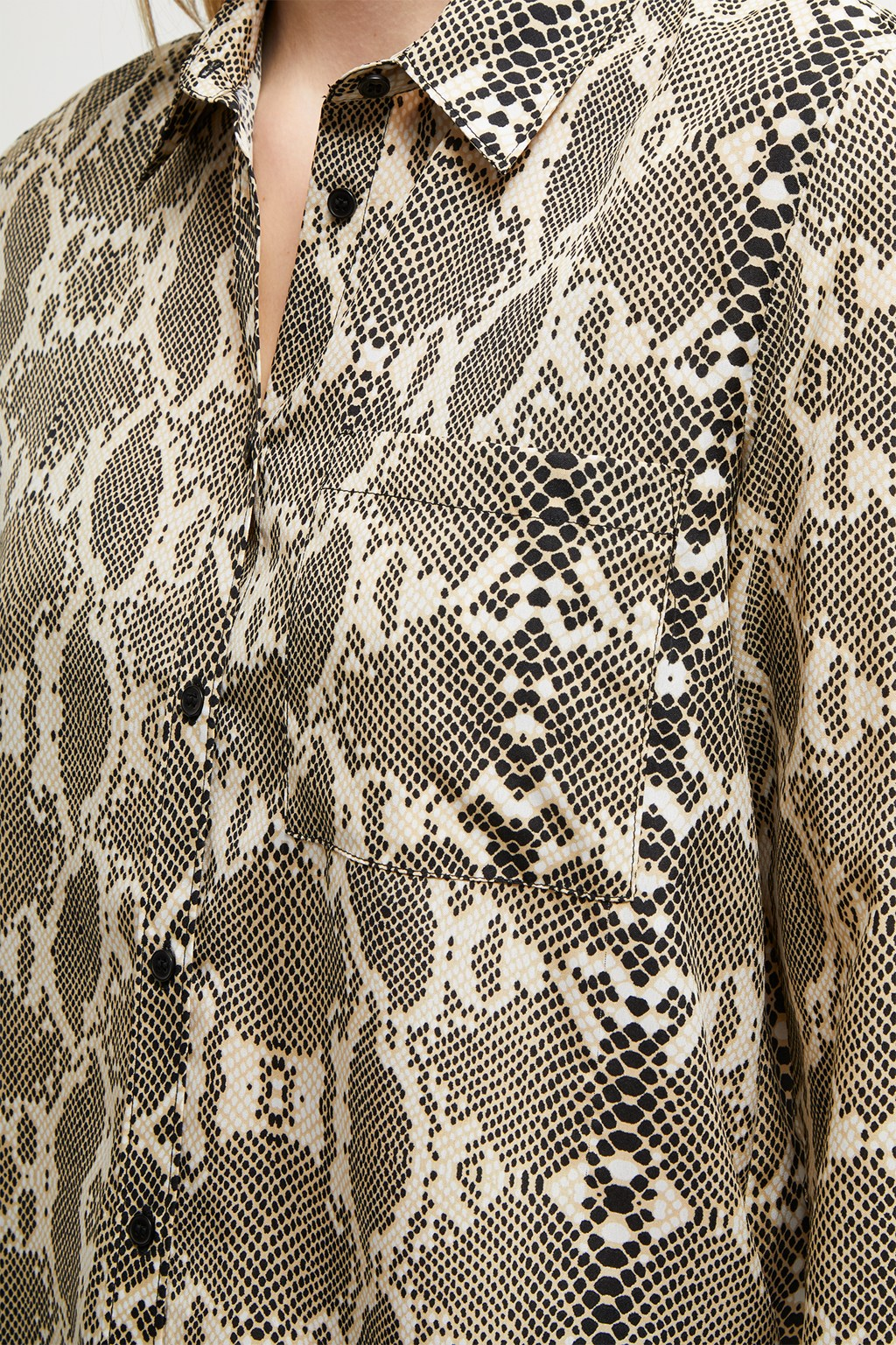32ec2947 Snake Print Boyfit Shirt. loading images... loading images.