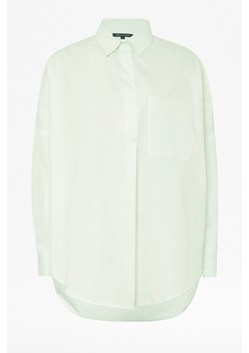 Laselle Button Through Pop Over Shirt
