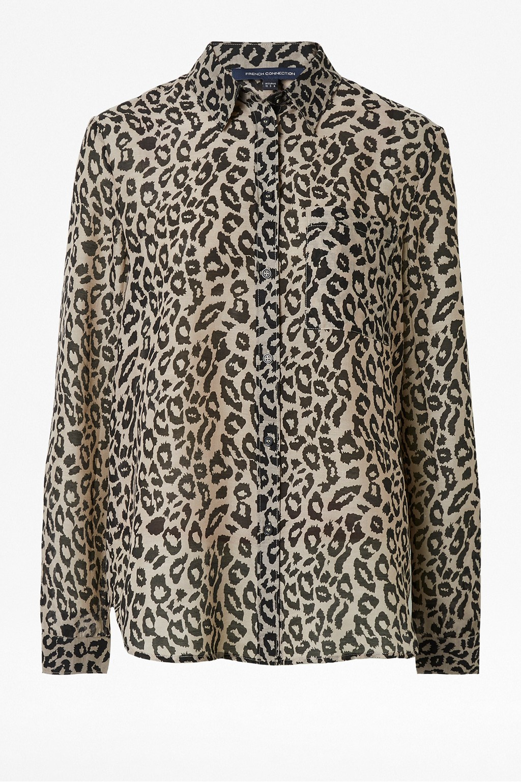 3cd231bd784 Animal Print Boyfit Shirt | Collections | French Connection