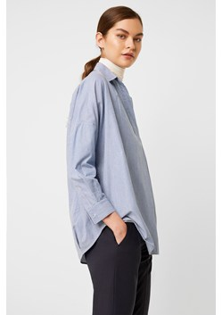 Rhodes Fine Ticking Stripe Popover Shirt