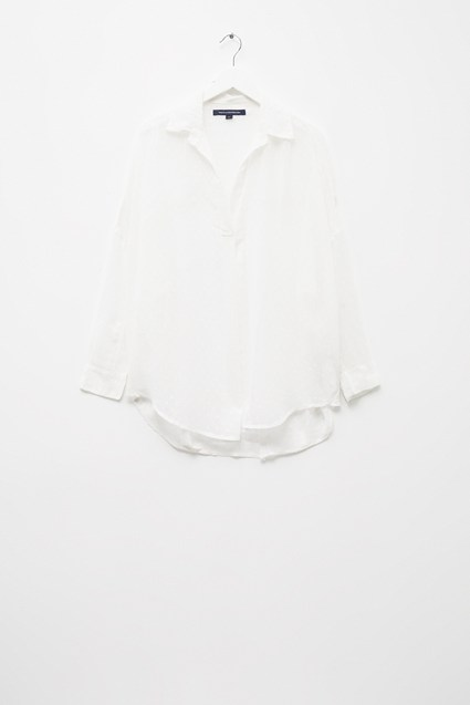 Fil De Coupe Pop Over Shirt