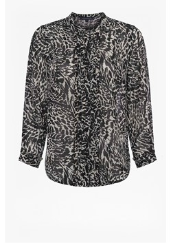 Monochrome Caressa Printed Shirt