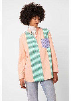 Adisa Stripe Colourblock Shirt