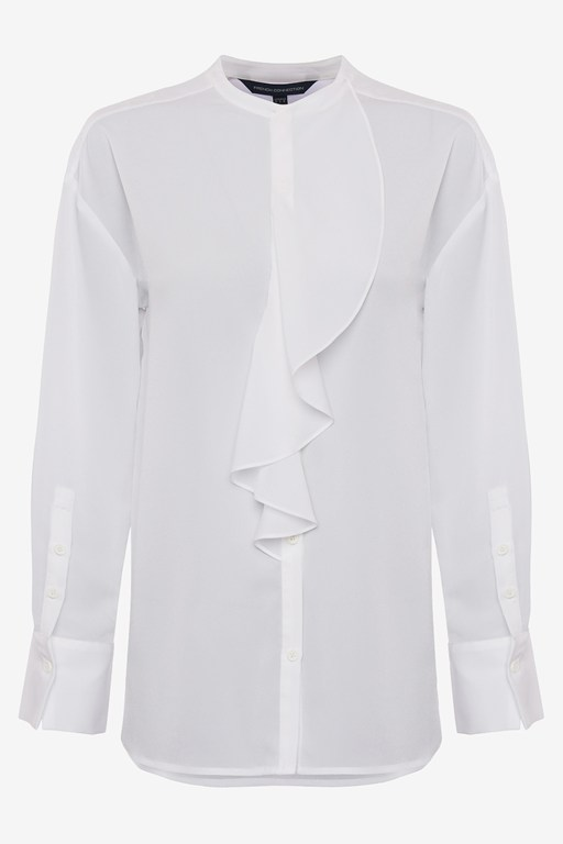 Complete the Look Elna Light Ruffle Shirt