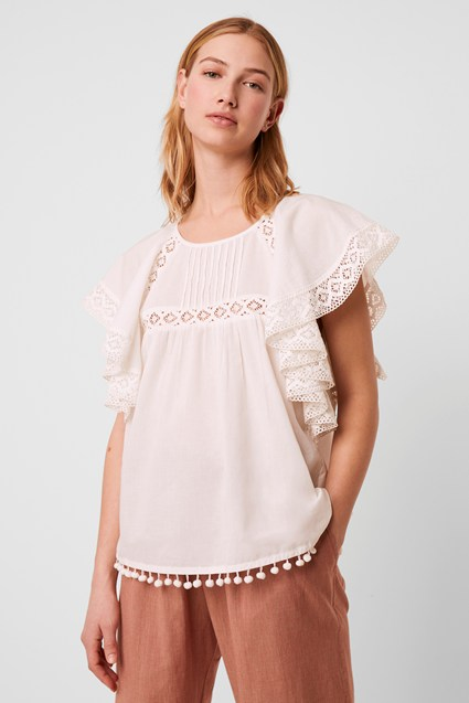Cadenza Frill Detail Top