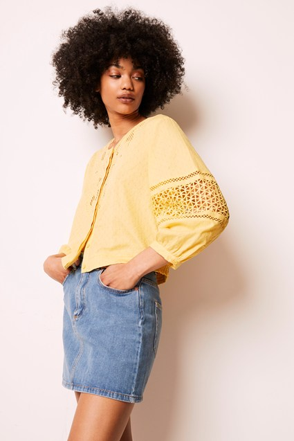 Esther Cotton Cutwork Top