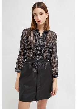 Caressa Crinkle Printed Georgette Shirt