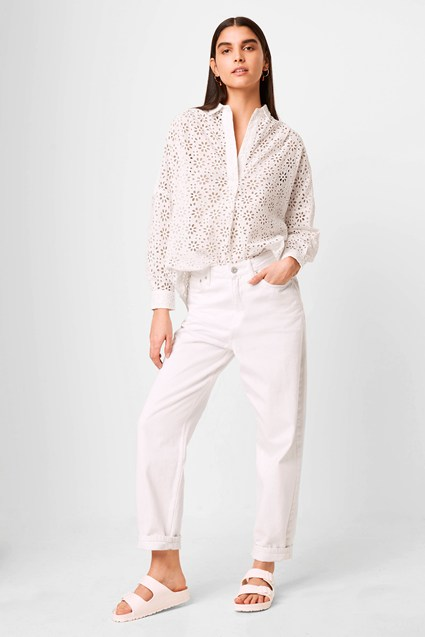 Agee Anglaise Popover Shirt