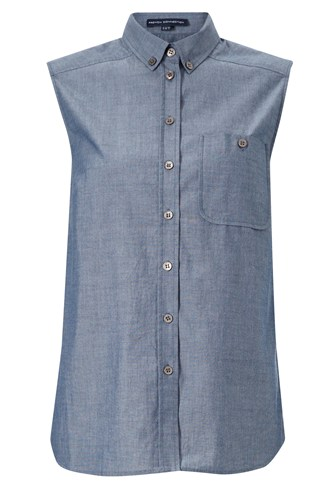 Charlie Chambray Top