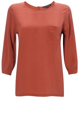 Winter Silk Pocket Top