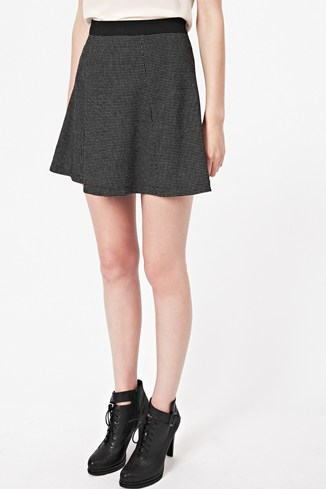 Pop Dot Flared Skirt