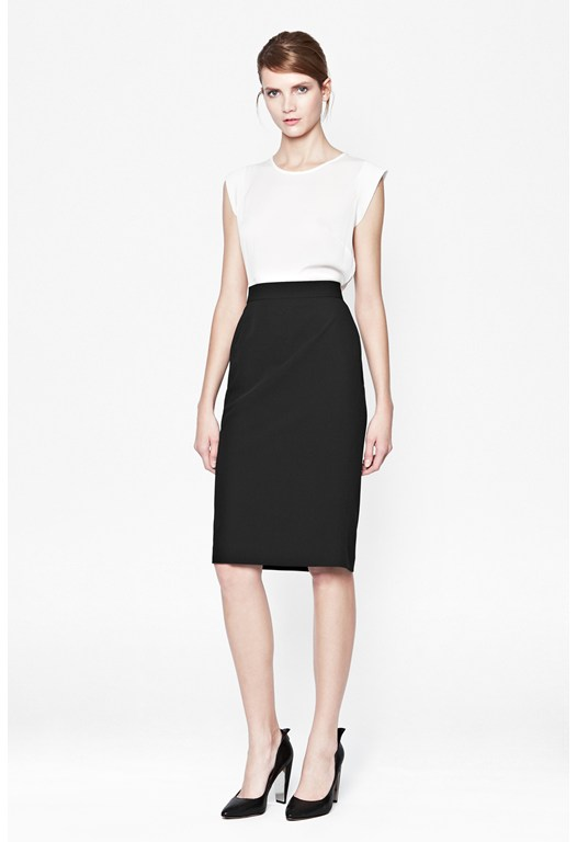 Feather Ruth Classic Pencil Skirt