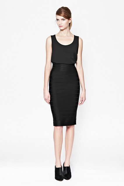 Spotlight Bandage Pencil Skirt