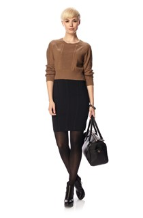 Dani Crepe Pencil Skirt