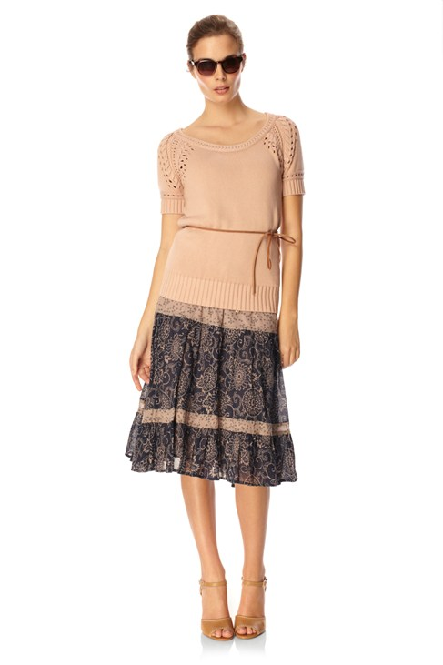 Columbine Clover Gypsy Skirt