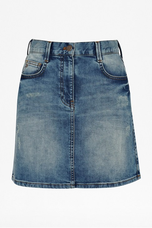 Aspen Blue Denim Skirt