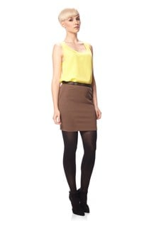 Rita Mix Jersey Mini Skirt