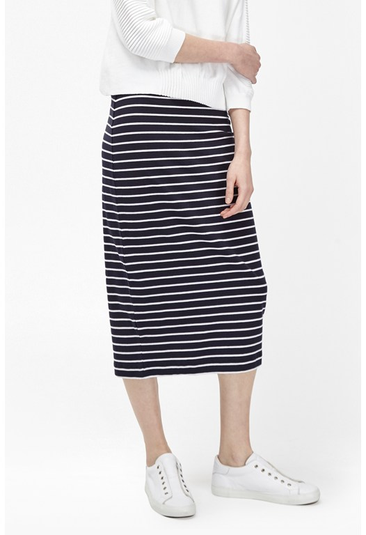 Tim Tim Stripe Tube Skirt