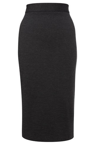 Pop Check Pencil Skirt