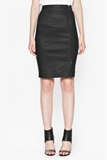 Looks Great With Gazelle Zip Pencil Skirt