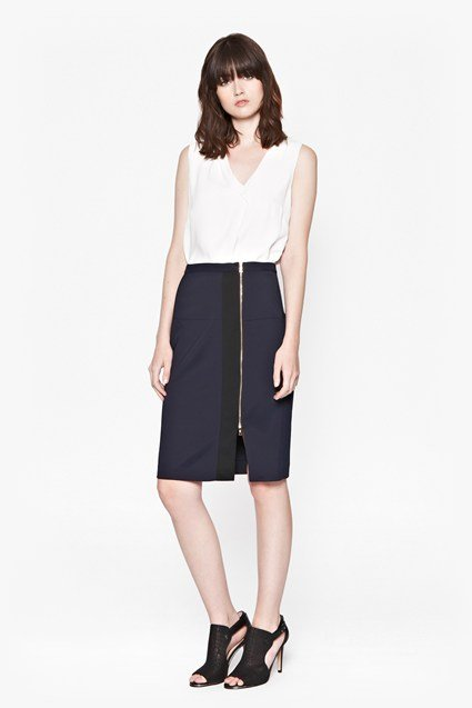 Eddie Stretch Pencil Skirt