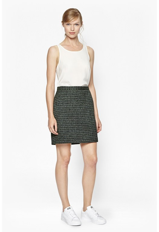 Bonser Tweed Mini Skirt