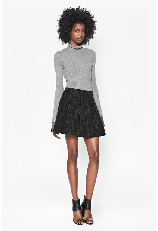 Firenze Flock Skater Skirt