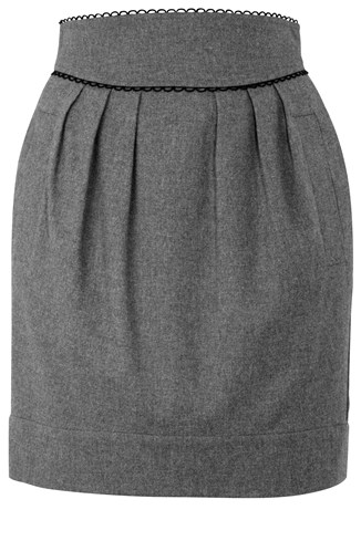 Dancing Around Skirt Grey