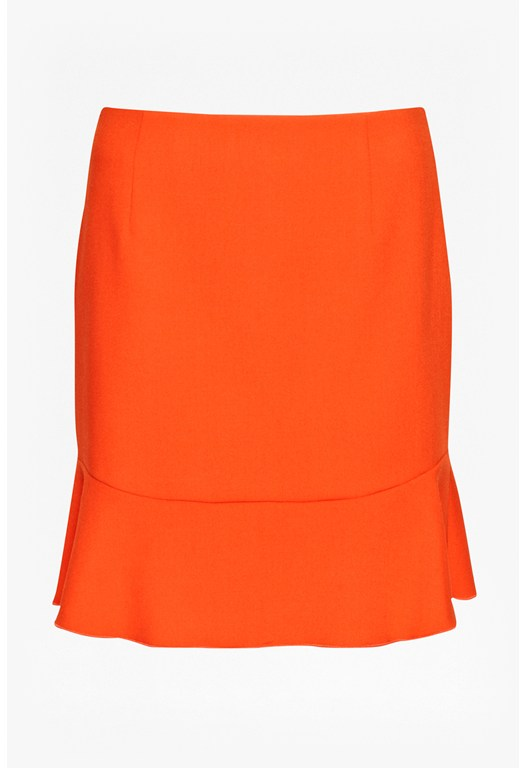 Whisper Fluted Hem Skirt