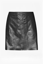 Looks Great With Jetson Leather Skirt