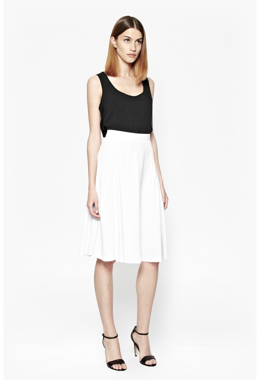 Cassie Full Drape Skirt