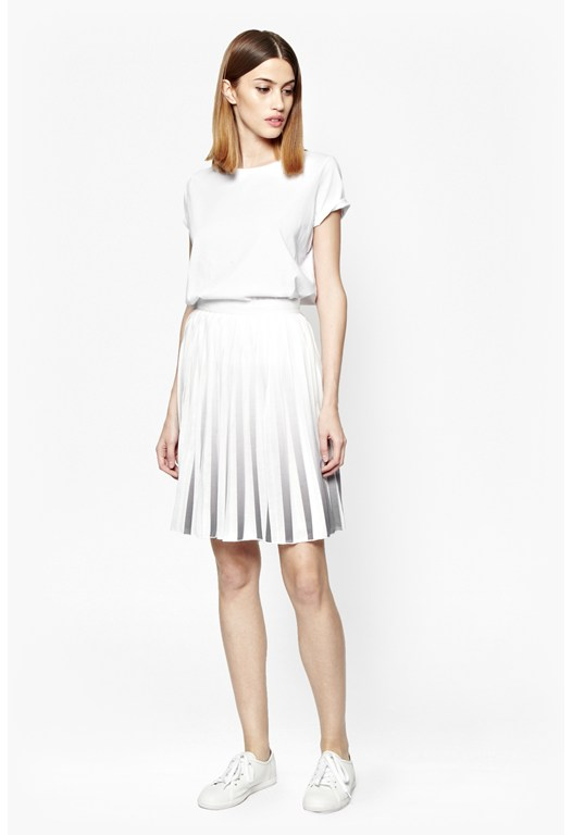 Miami Dip Dye Pleated Skirt