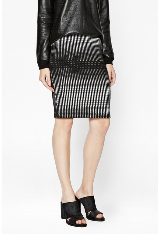 Texture Tia Pencil Skirt