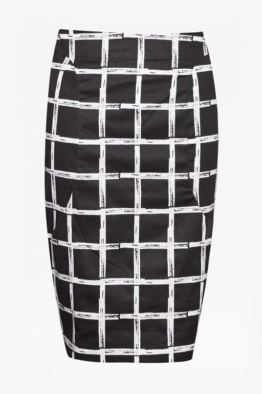 Paint Check Ritchie Skirt