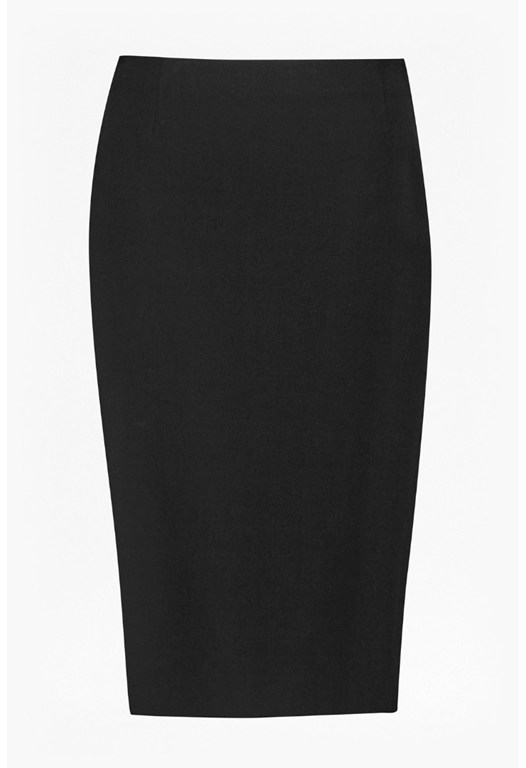Street Twill Pencil Skirt