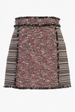Looks Great With Pixel Mix Cotton Mini Skirt