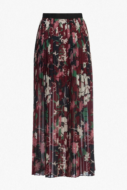 Complete the Look Bloomsbury Garden Pleated Maxi Skirt