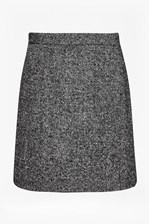 Looks Great With Rupert Tweed Wrap Mini Skirt