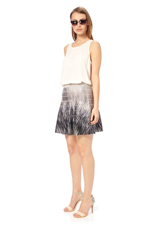 Spotlight Flame Flared Skirt
