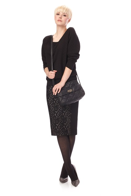 Lucia Lace Pencil Skirt