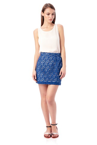 Wilma Lace Crop Skirt