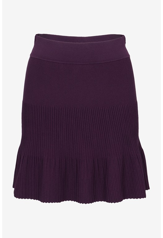 Polly Pleats Flared Skirt