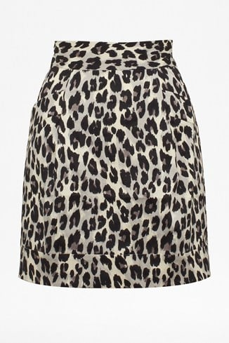 Winter Simba Printed Skirt