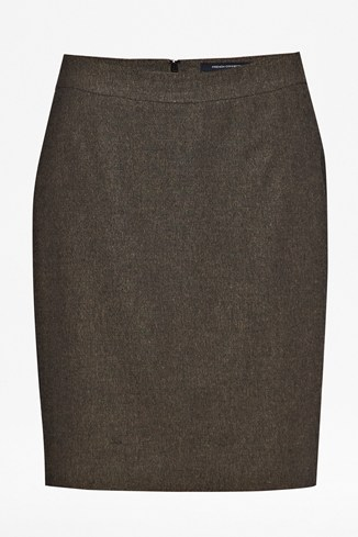 Cut And Sew Pencil Skirt