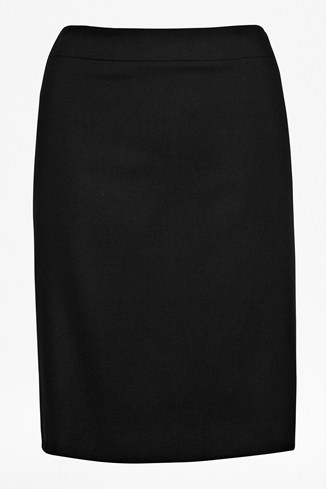 Cut & Sew Wool Skirt