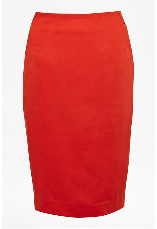 Waterflower Pencil Skirt