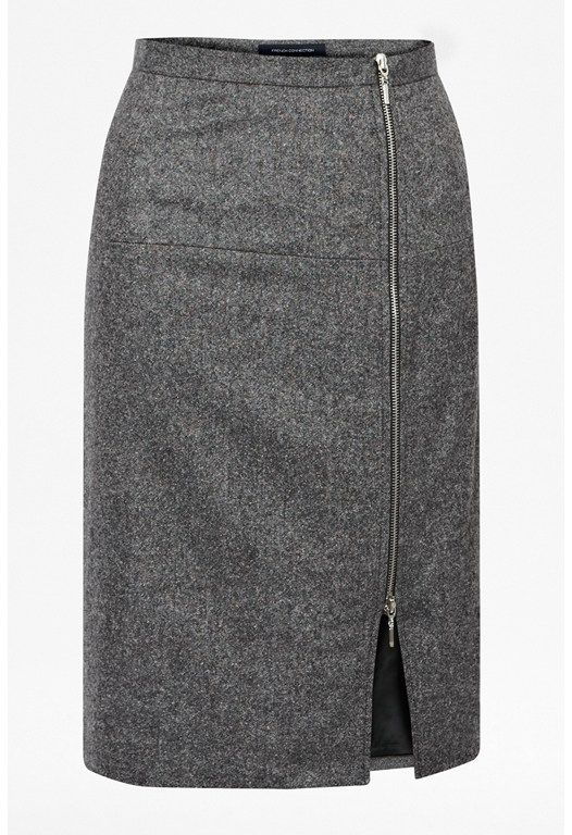 Pepper Tweed Skirt