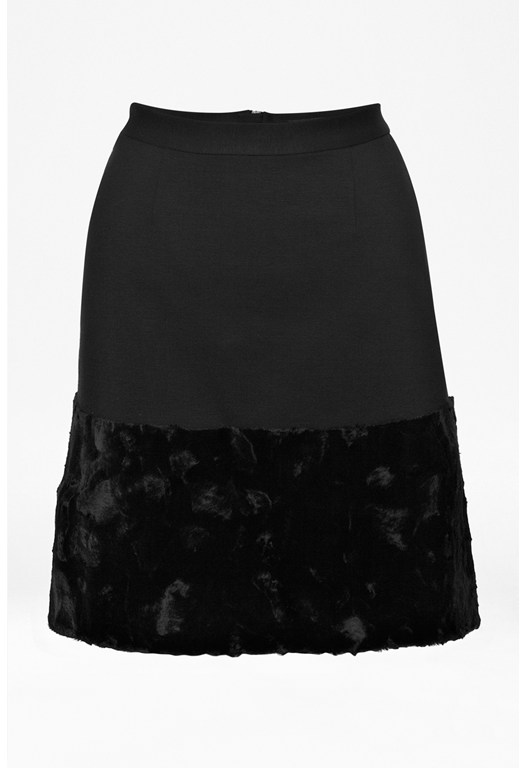 Pony Patch Skirt