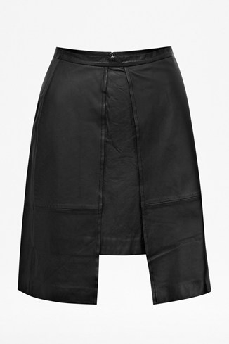 Nevada Leather Skirt